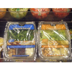 Ready and Frozen Meals Spinach Ceasar Salad - Packline USA