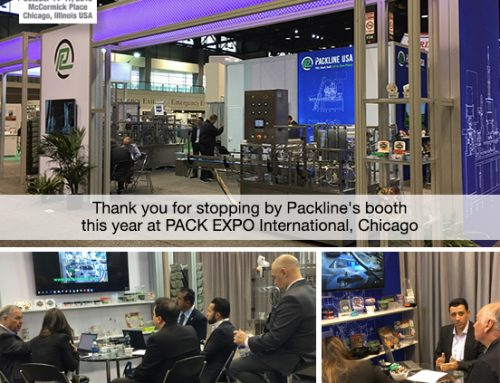 Thank you for stopping by Packline's booth this year at PACK EXPO International, Chicago.
