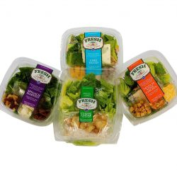 Ready and Frozen Meals Fresh Salad 4 Containers - Packline USA