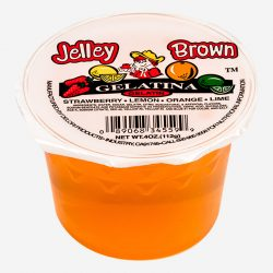Jello and Pudding Jelly Brown Gelatin - Packline USA