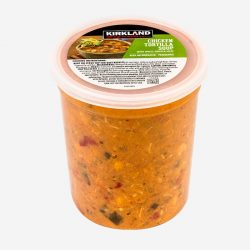Soups and Dressings Kirkland Chicken Tortilla Soup Single Cup - Packline USA