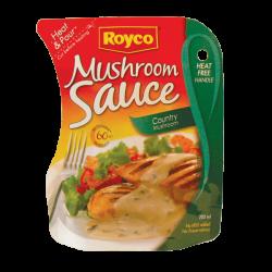Pouches / Bags Mushroom Sauce - Packline USA