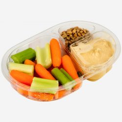 Singles, Grab and Go Carrot Celery Dip - Packline USA